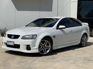2011 Holden Commodore VE II SV6 White 6 Speed Sports Automatic Sedan.