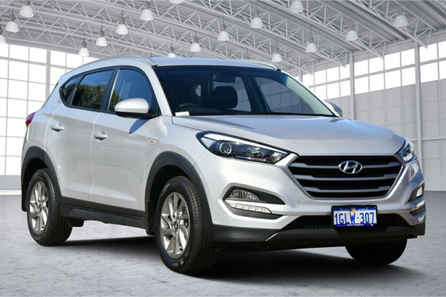 Used Hyundai Tucson TL2 MY18 Active 2WD Victoria Park, 2018 Hyundai Tucson TL2 MY18 Active 2WD Platinum Silver 6 Speed Sports Automatic Wagon