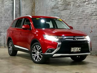2015 Mitsubishi Outlander ZK MY16 XLS 2WD Red 6 Speed Constant Variable Wagon.