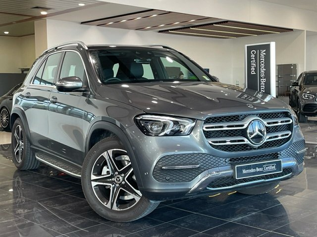 Used Mercedes-Benz GLE-Class V167 801MY GLE300 d 9G-Tronic 4MATIC Hervey Bay, 2020 Mercedes-Benz GLE-Class V167 801MY GLE300 d 9G-Tronic 4MATIC Grey 9 Speed Sports Automatic