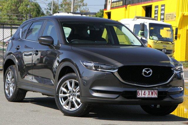 Used Mazda CX-5 KF2W7A Maxx SKYACTIV-Drive FWD Sport Rocklea, 2017 Mazda CX-5 KF2W7A Maxx SKYACTIV-Drive FWD Sport Machine Grey 6 Speed Sports Automatic Wagon