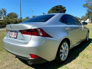 2016 Lexus IS ASE30R IS200t Luxury Silver Lining 8 Speed Sports Automatic Sedan