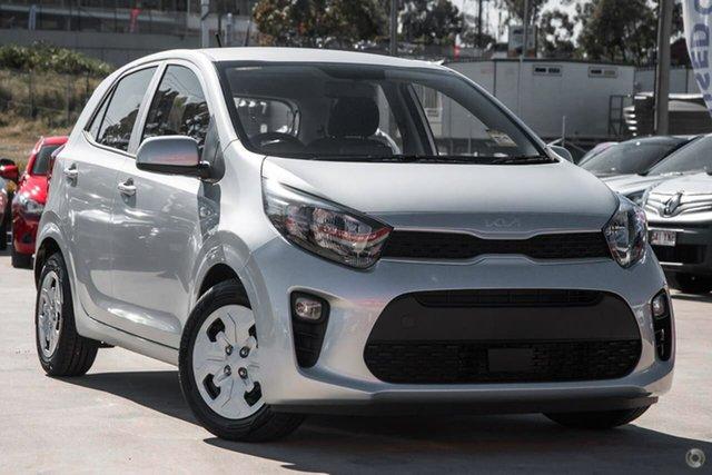 New Kia Picanto JA MY22 S Reynella, 2021 Kia Picanto JA MY22 S Silver 5 Speed Manual Hatchback