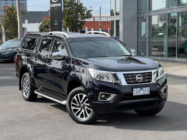 Used Nissan Navara D23 ST-X 4x2 South Melbourne, 2015 Nissan Navara D23 ST-X 4x2 Cosmic Black 7 Speed Sports Automatic Utility