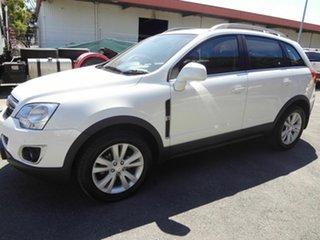 2013 Holden Captiva CG MY13 5 LTZ (AWD) White 6 Speed Automatic Wagon.