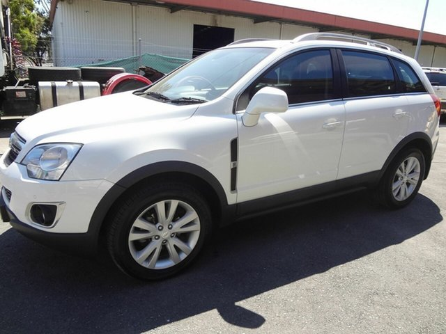 Used Holden Captiva CG MY13 5 LTZ (AWD) Coopers Plains, 2013 Holden Captiva CG MY13 5 LTZ (AWD) White 6 Speed Automatic Wagon