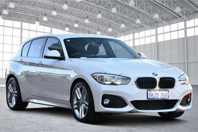 Used BMW 1 Series F20 LCI 120i Steptronic M Sport Victoria Park, 2017 BMW 1 Series F20 LCI 120i Steptronic M Sport White 8 Speed Sports Automatic Hatchback