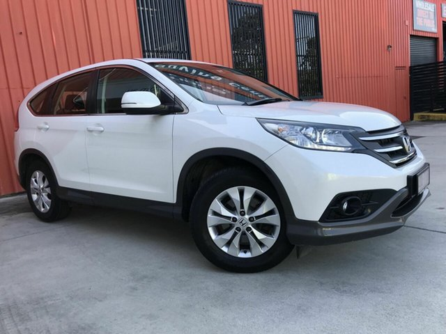 Used Honda CR-V RM MY14 DTi-S 4WD Molendinar, 2014 Honda CR-V RM MY14 DTi-S 4WD White 5 Speed Automatic Wagon