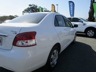 2015 Toyota Yaris NCP93R YRS White 4 Speed Automatic Sedan