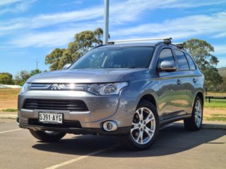 2013 Mitsubishi Outlander ZJ MY13 LS 2WD Silver 6 Speed Constant Variable Wagon