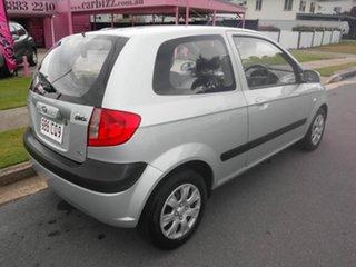 2006 Hyundai Getz TB (MY06) Silver 5 Speed Manual Hatchback.
