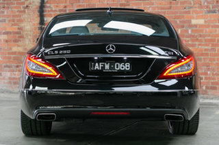2015 Mercedes-Benz CLS-Class C218 806MY CLS250 d Coupe 7G-Tronic + Black 7 Speed Sports Automatic