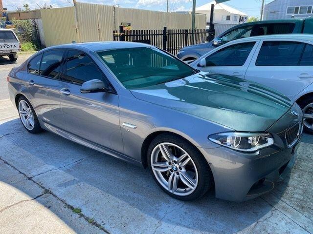 Used BMW 535i F10 MY15 Luxury Line Albion, 2015 BMW 535i F10 MY15 Luxury Line Grey 8 Speed Automatic Sedan