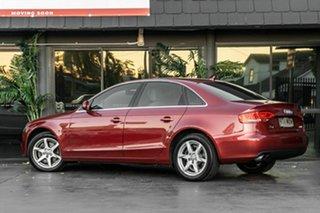 2009 Audi A4 B8 8K MY10 Multitronic Red 8 Speed Constant Variable Sedan.