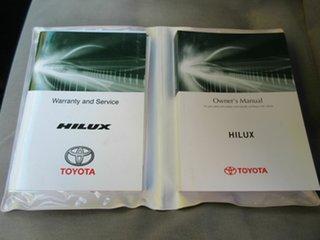 2017 Toyota Hilux GUN126R SR5 Extra Cab Silver 6 Speed Manual Utility