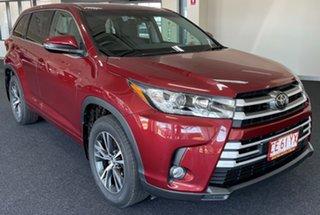 2019 Toyota Kluger GSU55R GX AWD Red 8 Speed Sports Automatic Wagon.