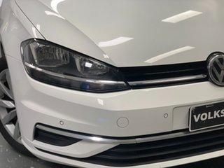 2020 Volkswagen Golf 7.5 MY20 110TSI DSG Comfortline White 7 Speed Sports Automatic Dual Clutch.