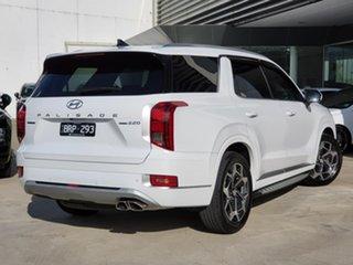 2021 Hyundai Palisade LX2.V2 MY22 Highlander AWD White 8 Speed Sports Automatic Wagon