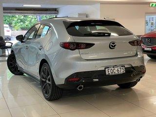2021 Mazda 3 BP2HLA G25 SKYACTIV-Drive Astina Silver 6 Speed Sports Automatic Hatchback.