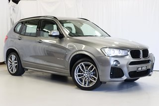 2016 BMW X3 F25 LCI xDrive20d Steptronic Grey 8 Speed Automatic Wagon.