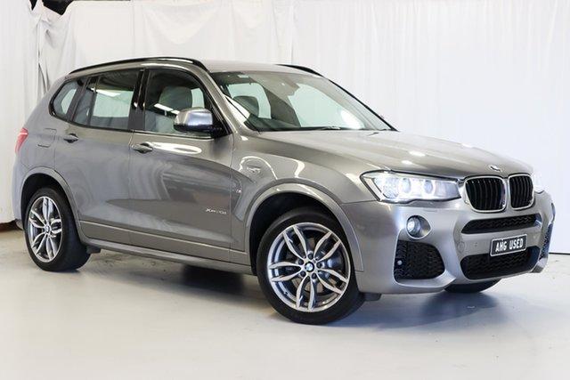 Used BMW X3 F25 LCI xDrive20d Steptronic Wangara, 2016 BMW X3 F25 LCI xDrive20d Steptronic Grey 8 Speed Automatic Wagon