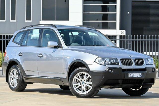 Used BMW X3 E83 MY05 Steptronic Pakenham, 2004 BMW X3 E83 MY05 Steptronic Silver 5 Speed Sports Automatic Wagon