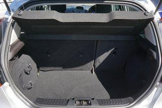 2014 Ford Fiesta WZ Ambiente PwrShift Silver 6 Speed Sports Automatic Dual Clutch Hatchback