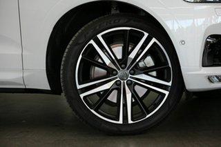 2020 Volvo XC60 UZ MY21 T6 AWD R-Design White 8 Speed Sports Automatic Wagon.