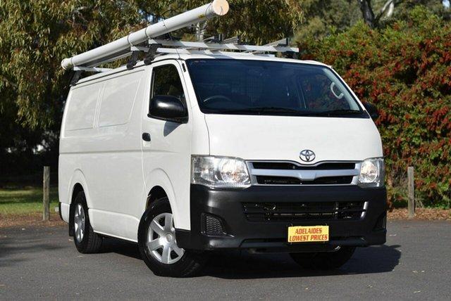 Used Toyota HiAce KDH201R MY12 LWB Melrose Park, 2013 Toyota HiAce KDH201R MY12 LWB White 5 Speed Manual Van