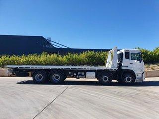 2021 UD CG 32 420 CG 32 420 Truck White Tilt Tray.