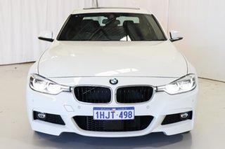 2017 BMW 3 Series F30 LCI 320i M Sport White 8 Speed Sports Automatic Sedan