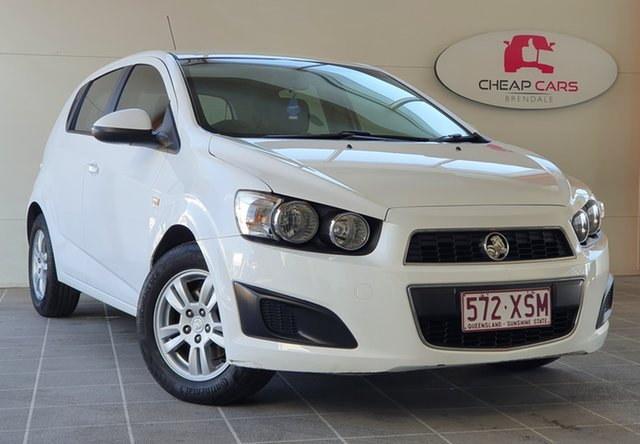 Used Holden Barina TM MY13 CD Brendale, 2013 Holden Barina TM MY13 CD White 6 Speed Automatic Hatchback