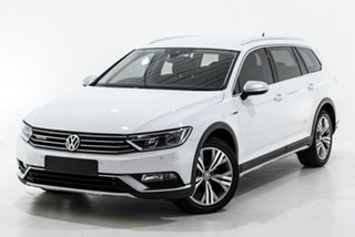 2018 Volkswagen Passat 3C (B8) MY18 140TDI DSG 4MOTION Alltrack White 7 Speed.