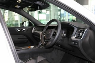 2020 Volvo XC60 UZ MY21 T6 AWD R-Design White 8 Speed Sports Automatic Wagon