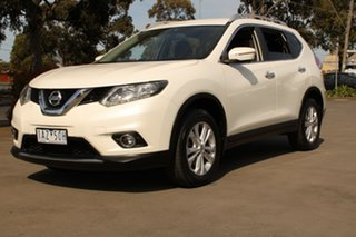 2014 Nissan X-Trail T32 ST-L (4x4) White Continuous Variable Wagon