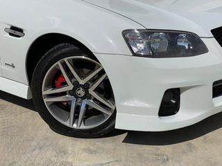 2011 Holden Commodore VE II SV6 White 6 Speed Sports Automatic Sedan