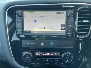 2012 Mitsubishi Outlander ZJ MY13 Aspire 4WD Grey 6 Speed Constant Variable Wagon.
