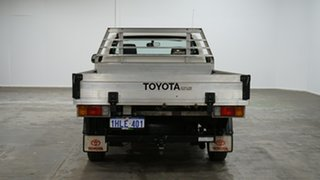 2012 Toyota Hilux TGN16R MY12 Workmate 4x2 White 4 Speed Automatic Cab Chassis