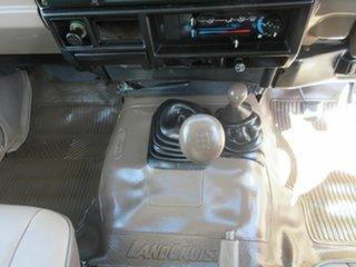 1997 Toyota Landcruiser HZJ75RV RV LWB (4x4) White 5 Speed Manual 4x4 Hardtop