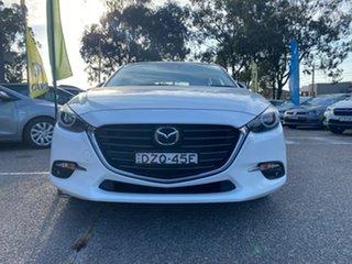 2018 Mazda 3 BN5436 SP25 SKYACTIV-MT Astina White 6 Speed Manual Hatchback.