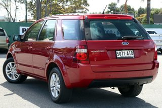 2010 Ford Territory SY MkII TS RWD Red 4 Speed Sports Automatic Wagon.