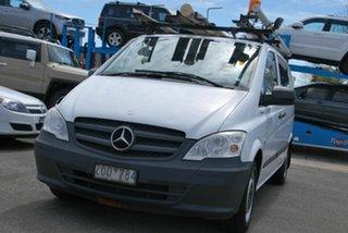 2013 Mercedes-Benz Vito MY11 116CDI SWB White 5 Speed Automatic Van