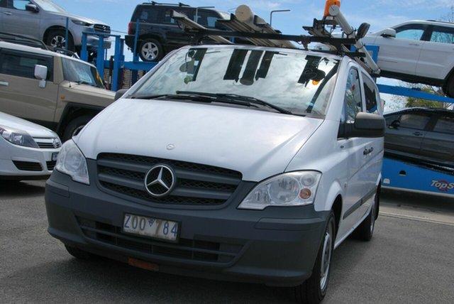 Used Mercedes-Benz Vito MY11 116CDI SWB Wendouree, 2013 Mercedes-Benz Vito MY11 116CDI SWB White 5 Speed Automatic Van