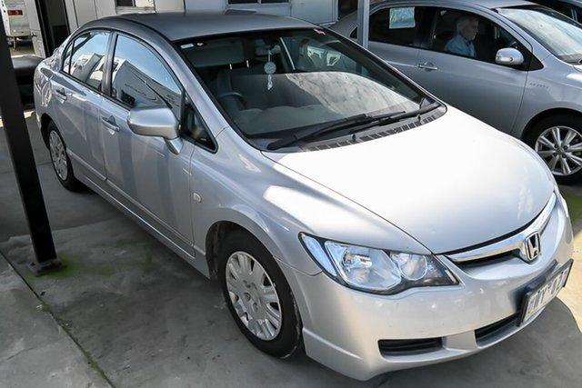 Used Honda Civic 8th Gen MY07 VTi Pakenham, 2007 Honda Civic 8th Gen MY07 VTi Silver 5 Speed Automatic Sedan