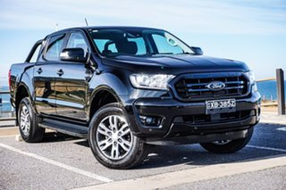 2019 Ford Ranger PX MkIII 2019.00MY XLT Black 6 Speed Sports Automatic Double Cab Pick Up.