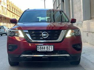 2019 Nissan Pathfinder R52 Series III MY19 ST X-tronic 2WD Maroon 1 Speed Constant Variable Wagon.
