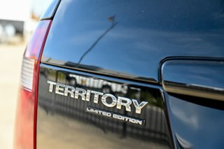 2010 Ford Territory SY MkII TS RWD Limited Edition Black 4 Speed Sports Automatic Wagon