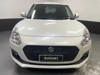 2017 Suzuki Swift AZ GL Navigator Safety Pack Pure White 1 Speed Constant Variable Hatchback.