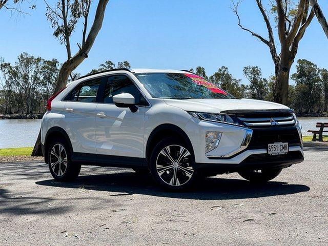 Used Mitsubishi Eclipse Cross YA MY18 ES (2WD) Loxton, 2019 Mitsubishi Eclipse Cross YA MY18 ES (2WD) White Continuous Variable Wagon