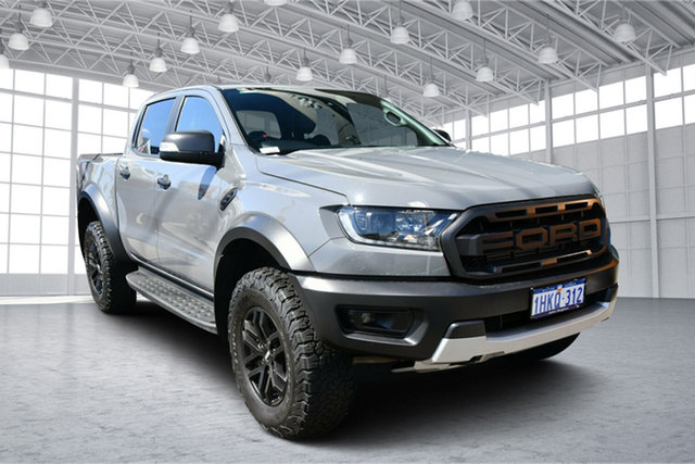 Used Ford Ranger PX MkIII 2020.25MY Raptor Victoria Park, 2020 Ford Ranger PX MkIII 2020.25MY Raptor Grey 10 Speed Sports Automatic Double Cab Pick Up
